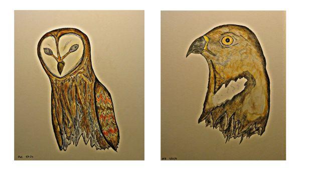 The hollow birds