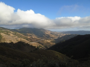 The Cuesta Grade, California. or, My field.