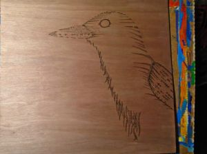 I watch the wood grain and it helps me sort out where to draw the lines.