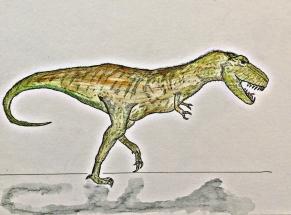 rex watercolor