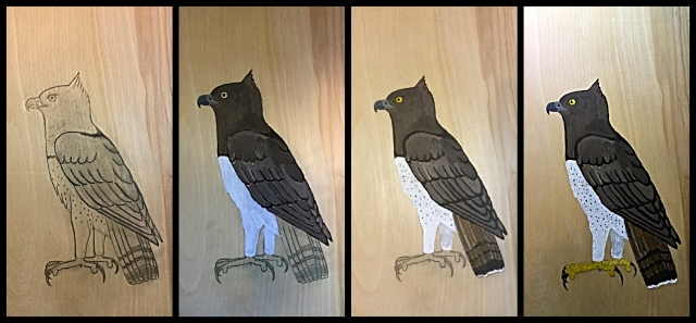 martial eagle progression