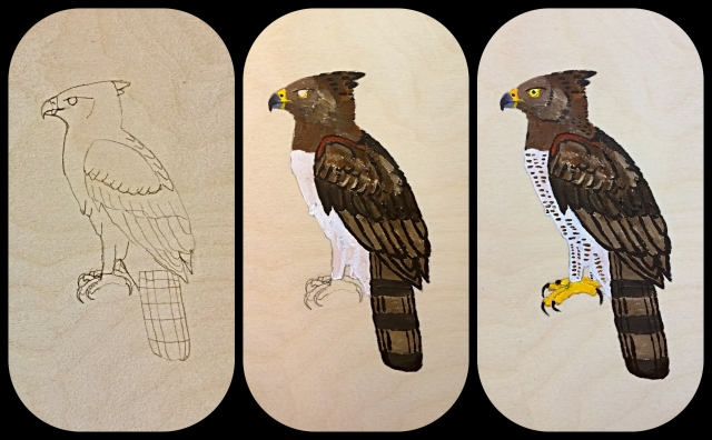 crowned eagle panel process